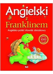 Angielski z Franklinem. Angielsko-polski - okładka książki
