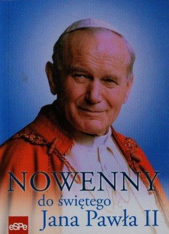 Nowenny do świętego Jana Pawła - okładka książki