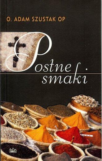 Postne smaki - okładka książki