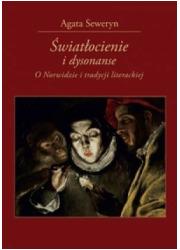 Światłocienie i dysonanse. O Norwidzie - okładka książki