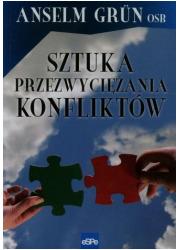 Sztuka przezwyciężania konfliktów - okładka książki