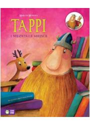 Tappi i niezwykłe miejsce - okładka książki