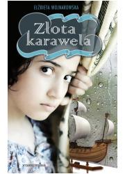 Złota karawela - okładka książki
