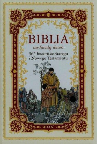 Biblia na każdy dzień. 365 historii - okładka książki
