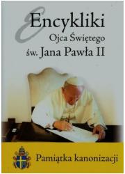 Encykliki Ojca Świętego św. Jana - okładka książki