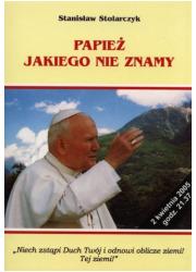 Papież jakiego nie znamy - okładka książki