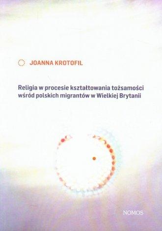 Religia w procesie kształtowania - okładka książki