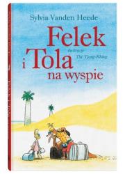 Felek i Tola na wyspie - okładka książki