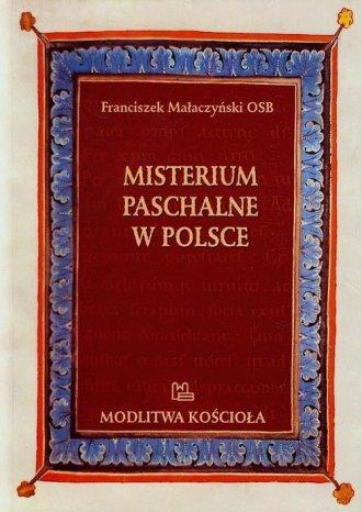 Misterium Paschalne w Polsce - okładka książki