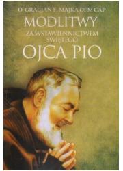 Modlitwy za wstawiennictwem świętego - okładka książki