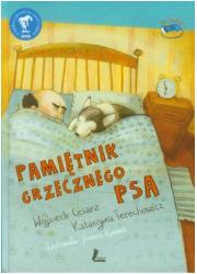 Pamiętnik grzecznego psa - okładka książki