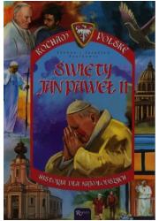 Święty Jan Paweł II . Seria: Kocham - okładka książki