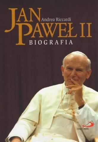 Jan Paweł II. Biografia - okładka książki
