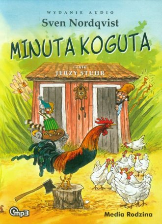 Minuta koguta (CD mp3) - pudełko audiobooku
