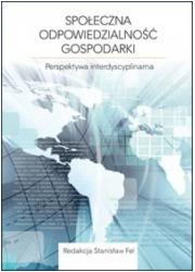 Społeczna odpowiedzialnośc gospodarki. - okładka książki