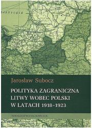Polityka zagraniczna Litwy wobec - okładka książki