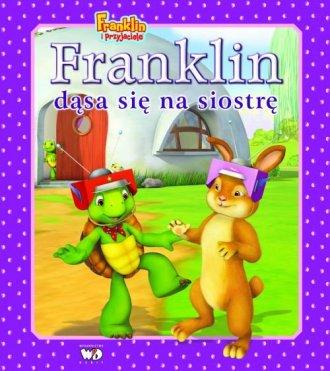 Franklin dąsa się na siostrę - okładka książki