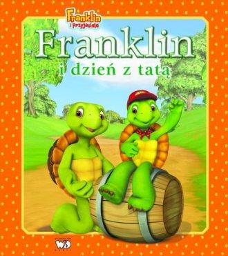 Franklin i dzień z tatą - okładka książki