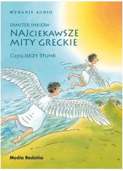 Najciekawsze mity greckie (mp3) - pudełko audiobooku