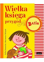 Basia. Wielka księga przygód - okładka książki