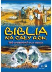 Biblia na cały rok. 365 opowiadań - okładka książki