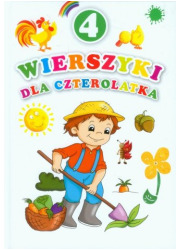 Wierszyki dla czterolatka - okładka książki