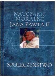 Nauczanie moralne Jana Pawła II. - okładka książki