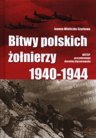 Bitwy polskich żołnierzy 1940-1944 - okładka książki
