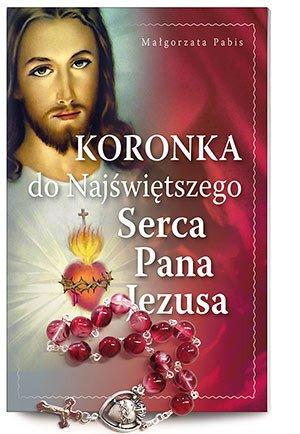 Koronka do Najświętszego Serca - okładka książki