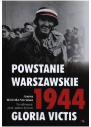 Powstanie Warszawskie 1944 Gloria - okładka książki