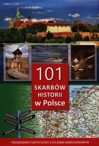 101 skarbów historii w Polsce. - okładka książki
