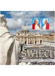 Święci Jan Paweł II i Jan XXIII - okładka książki
