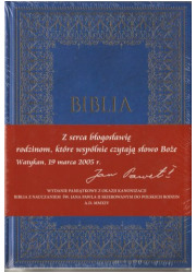 Biblia. Wydanie pamiątkowe z okazji - okładka książki