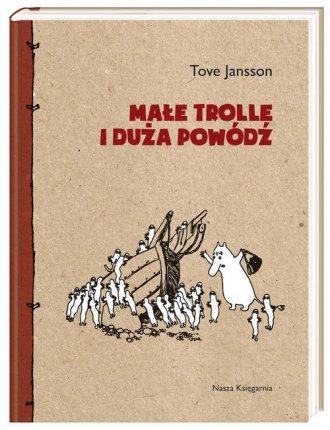 Małe trolle i duża powódź - okładka książki