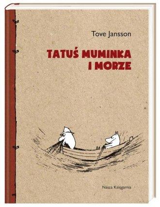 Tatuś Muminka i morze - okładka książki