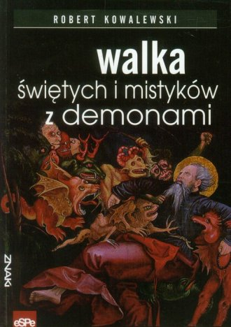 Walka świętych i mistyków z demonami - okładka książki