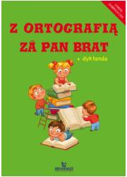 Z ortografią za pan brat + dyktanda - okładka książki