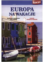 Europa na wakacje. Śladami polskich - okładka książki