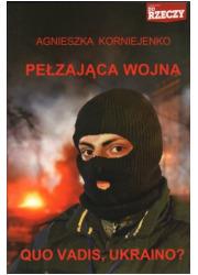Pełzająca wojna - okładka książki
