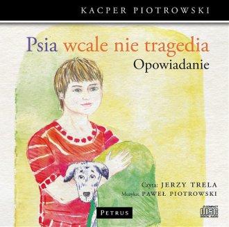 Psia wcale nie tragedia (CD mp3) - pudełko audiobooku