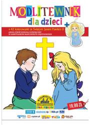 Modlitewnik dla dzieci. 42 kolorowanki - okładka książki