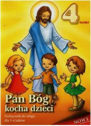 Pan Bóg kocha dzieci. Nauczanie - okładka podręcznika
