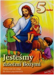 Jesteśmy dziećmi Bożymi. 5-latki. - okładka podręcznika