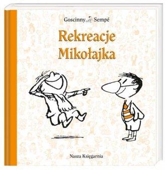 Rekreacje Mikołajka - okładka książki