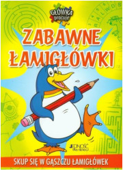 Zabawne łamigłówki - okładka książki