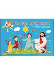 Pan Bóg kocha dzieci. Religia. - okładka podręcznika