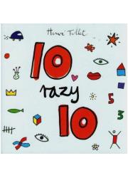 10 razy 10 - okładka książki
