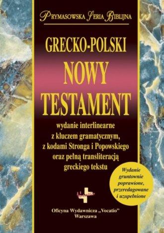 Grecko-polski Nowy Testament wydanie - okładka książki