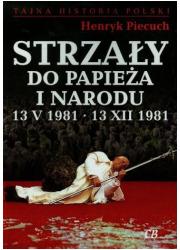 Strzały do Papieża i narodu 13 - okładka książki