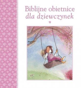 Biblijne obietnice dla dziewczynek - okładka książki